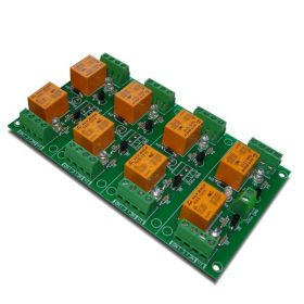 8 Channel relay board for your Arduino or Raspberry PI - 12V