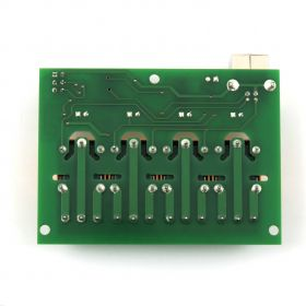 USB Four(4) Relay Output Module,Board for Home Automation with MCP2200