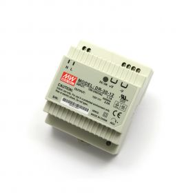 12V/2A Industrial DIN Rail Power Supply MEAN WELL DR-30-12