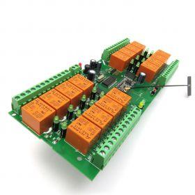 WiFi 16 Relay Module, TCP/IP, UDP, Virtual Serial Port - PCB