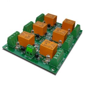 6 Channel relay board for your Arduino or Raspberry PI - 12V