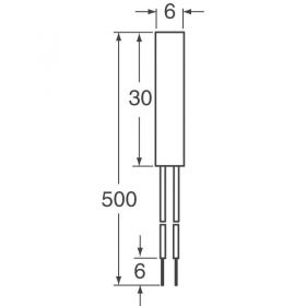 NTC Sensor 10K EPCOS (TDK) B57500K0103A001 - Copper Cylindrical Probe