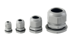 Cable glands PG type - set of 5 pieces