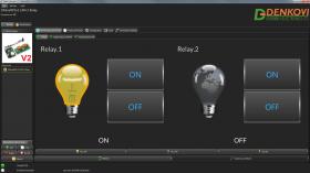 Internet/Ethernet 2 Channel Relay Board - IP, SNMP, Web