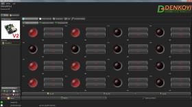 DAEnetIP2 v2 - SNMP Ethernet controller with 24 digital/analog I/O
