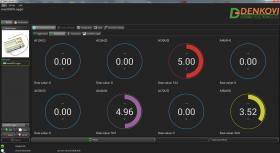 smartDEN Logger - Web enabled temperature datalogger with analog/digital inputs