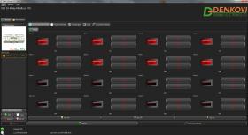 USB 16 Relay Module - ModBus RTU, Timers, DIN RAIL BOX