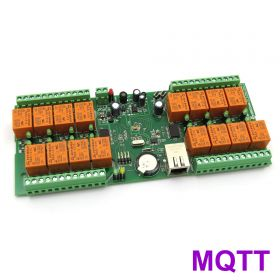 smartDEN MQTT Ethernet 16 Relay Board