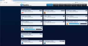 smartDEN Maxi IoT - I/O Relay Module MQTT, HTTP with DIN RAIL BOX