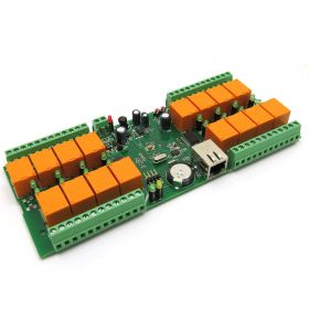smartDEN LAN Ethernet 16 Relay Board